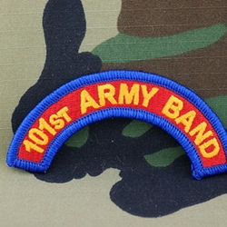 101st Army Band Tab, A-1-969