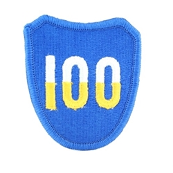 100TH INFANTRY DIVISION PATCH ACU