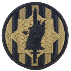 Overig Verzamelingen 89TH MILITARY POLICE BRIGADE PATCH DESERT