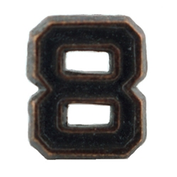 MEDAL//RIBBON DEVICE BRONZE NUMERAL 0