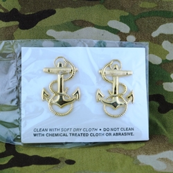 Insignia, BOS, Officer Candidate, Fouled Anchor