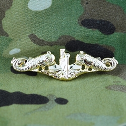 Devices, Metal, (Breast and Collar) Badge, Qualification, Submarine
