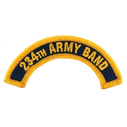 234th Army Band Tab, A-1-1110