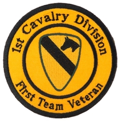 1st Cavalry Division, Veteran Patches