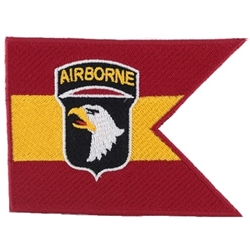 Guidons, 3 X 4 inch Patches