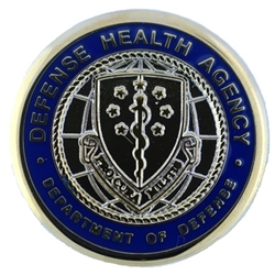 Eagles Of War Lapel Button Defense Health Agency