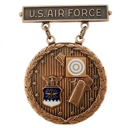 Badge, Qualification, Excellence in Competition, Pistol Shot, U.S. Air Force MIL-DTL-3628/86C