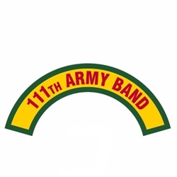 111th Army Band Tab, A-1-1135