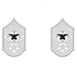 Insignia Rank, Senior Enlisted Advisor to the Chairman of Joint Chief of Staff, U.S. Air Force