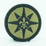 Patch, 316th Sustainment Command, MultiCam® with Velcro®