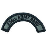 Patch, 67th Army Band Tab Color