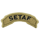Patch, Tab Southern European Task Force, MultiCam® with Velcro®