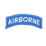 Patch, Airborne Tab, Color BlueWhite