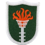 Patch, U.S. Army Korean Communications Zone, A-1-197, Color