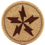 Patch, U.S. Army Alaska Communications System (ACS), A-1-190, Desert
