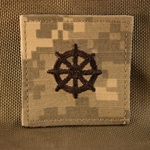 Branch Insignia, Buddhist, ACU with Velcro®