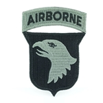 Patch, 101st Airborne Division With Tab, One Piece, ACU with Velcro®