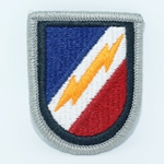 Beret Flash, 344th Psychological Operations Company, Merrowed Edge