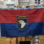 Flag, 101st Airborne Division (Air Assault), 3X5 Printed Polyester