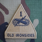 Patch, 1st Armored Division, MultiCam®