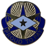 DUI, 3rd Finance Corps, Motto, PROUD TO PAY