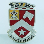 DUI, 9th Engineer Battalion D-3896, Motto: ASISTIREMOS