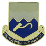 DUI, 11th Transportation Battalion, D-3050, Motto, PREPAREDNESS-DEPENDABILITY