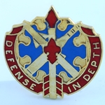 DUI, 18th Air Defense Artillery Group, Motto, DEFENSE IN DEPTH