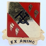 DUI, 27th Support Battalion, D-3396, Motto, EX ANIMO