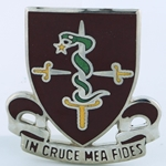 DUI, 30th Medical Brigade, Motto, IN CRUCE MEA FIDES