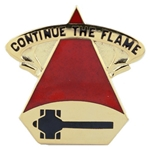 DUI, 31st Supply Company, Motto, CONTINUE THE FLAME