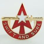 DUI, 32nd Army Air & Missile Defense Command, Motto, SWIFT AND SURE