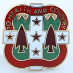 DUI, 33rd Field Hospital, Motto, TO HEALTH AND COUNTRY