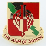 DUI, 50th Main Support Battalion, D-4000, Motto, The Arm of Armor