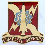 DUI, 55th Support Battalion, Motto, COMPLETE SUPPORT
