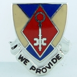 DUI, 75th Support Battalion, D-4427, Motto, WE PROVIDE