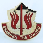DUI, 80th Support Group, D-4532, Motto, SHARPEN THE SWORD