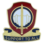 DUI, 82nd Personnel Services Battalion, Motto, SUPPORT TO ALL