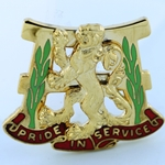 DUI, 66th Maintenance Battalion, Motto, PRIDE IN SERVICE
