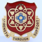 DUI, 67th Maintenance Battalion, Motto, Strength Through Support