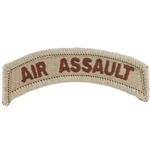 Patch, Tab, Air Assault, ACU with Velcro®