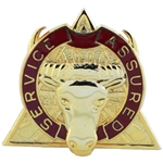 DUI, 79th Support Battalion, Motto, Service Assured