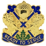 DUI, 87th U.S. Army Reserve Support Command, Motto, READY TO SERVE