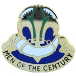 DUI, 100th Training Division, Type 1, Motto, MEN OF THE CENTURY