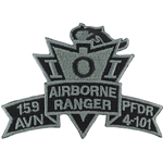 Patch, 159th Aviation Brigade, PFDR, 4th Battalion, 101st Aviation Regiment, ACU, Small New Type