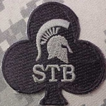 Special Troops Battalion, 327th Infantry Regiment, 1st Brigade Combat Team, 101st Airborne Division, Helmet Patch New Type