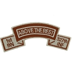 Patch, Special Forces Tab Spice Brown Desert
