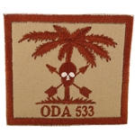 Patch, Operational Detachment Alpha (ODA) 533, Desert - Spice Brown