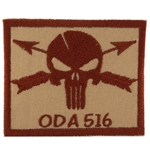 Patch, Operational Detachment Alpha (ODA) 516, Desert - Spice Brown