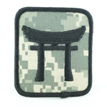 Helmet Patch, 187th Infantry Regiment, ACU, Type 1